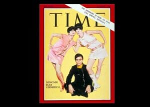 Designer Gernreich on the cover of Time, December 1, 1967.