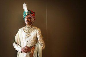Indian prince Manvendra Singh Gohil.