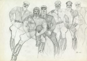 """Untitled, 1987"" by Tom of Finland."