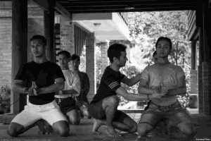 Prumsodun Ok guides the dancers of the first gay Khmer classical dance troupe.