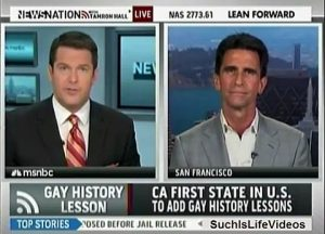 National news: California becomes first state to mandate the teaching of LGBTQ history in the public schools.