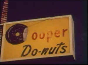 Cooper Donuts sign.