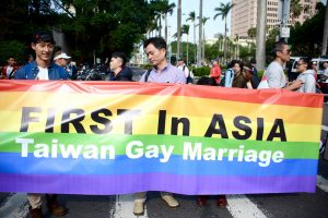 Taiwan's high court ruling paves the way for marriage equality, a first in Asia.