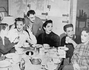 Drag queens, ca. 1950s.