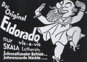 Advertisement for the Eldorado club.