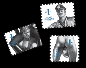 On September 8, 2014, the Finnish postal office honored Tom of Finland with a set of postage stamps.