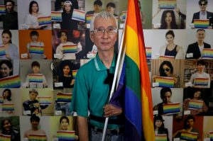 Chi Chia-wei, a pioneering gay activist, became the first person in Taiwan to come out as gay on national television in 1986.