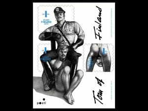 The Tom of Finland stamp set was released in 2014 and rapidly became the best-selling samp set in the Finnish post office's history.